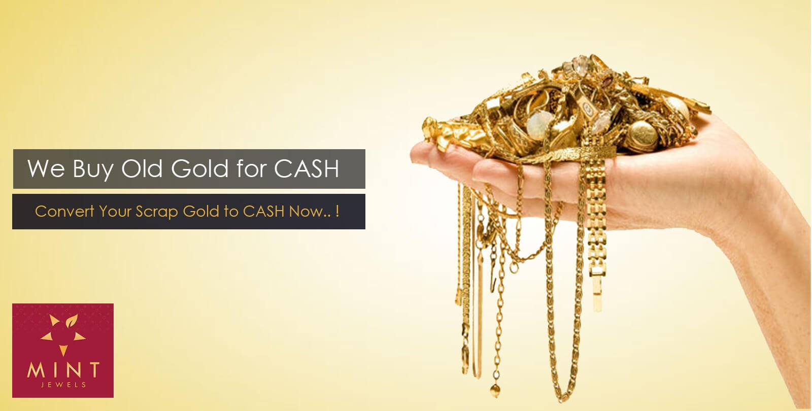 Buy,sell gold for cash in Dubai|sell old scrap gold UAE|Mint