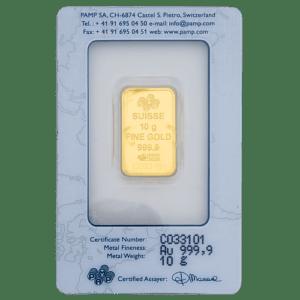 Buy 10 grams gold bars in Dubai