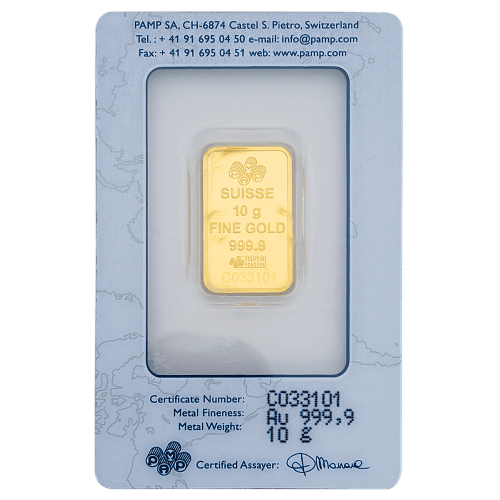 Buy 10 grams gold bars in Dubai