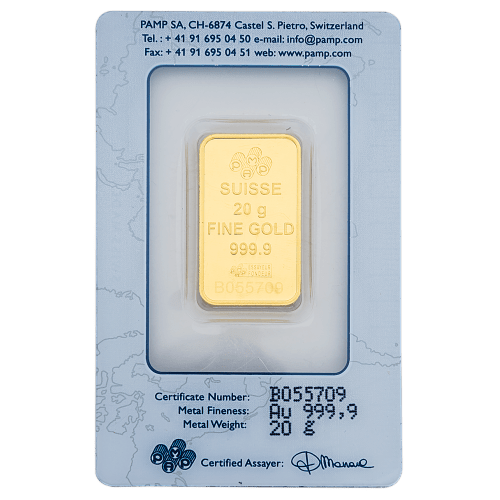 Buy 20 grams gold bars in Dubai - Mint Jewels